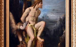 Юпитер и семела — гюстав моро