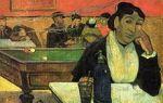 Картина «ночное кафе», винсент ван гог, 1888
