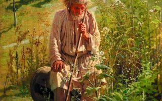Картина «мина моисеев», крамской — описание портрета