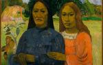 La orana maria (аве мария), поль гоген, 1891