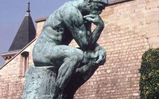 Огюст роден: скульптуры, их фото и описание