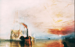 Кораблекрушение, уильям тёрнер — описание картины