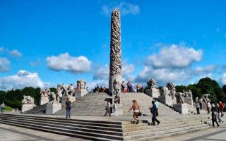 Музей и парк густава вигеланда: история человека со сложным характером