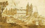 Порт на закате, клод лоррен — описание картины