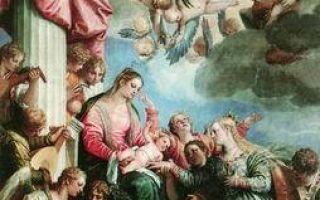 Благовещение, паоло веронезе — описание картины