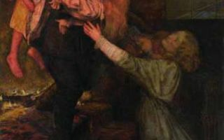 «слепая», джон эверетт милле — описание картины