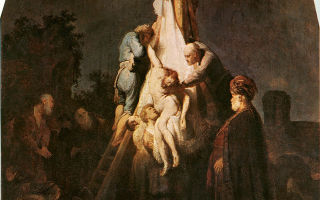 Картина «снятие с креста», рубенс, 1612