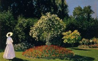 Картина «женщины в саду», клод моне — описание