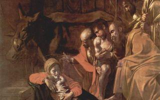 «поклонение пастухов», якопо бассано — описание картины