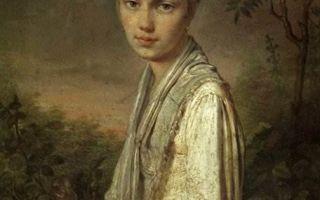 «крестьянка с васильками», алексей гаврилович венецианов — описание картины