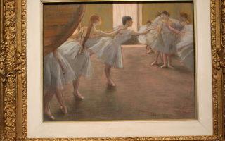 Расчесывание волос, 1896, эдгар дега