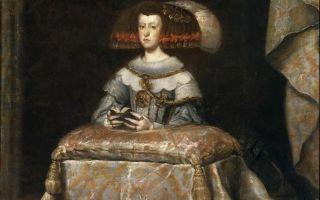 Портрет инфанты маргариты, дочери филиппа iv — диего веласкес, 1655
