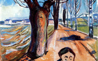 Художник эдвард мунк: биография и ряд известных картин