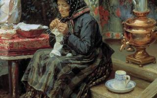 Картина «все в прошлом», художник в. м. максимов — описание