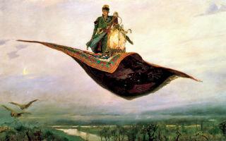 Картина «ковер-самолет», в. васнецов, 1880