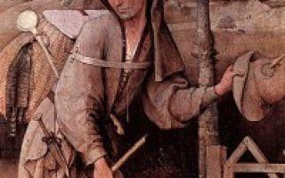 «блудный сын», иероним босх — описание картины