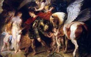 Описание картины «персей и андромеда», рубенс