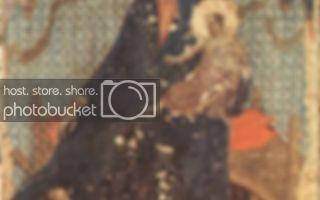 Мадонна с младенцем и ангелами (мадонна ручеллаи), дуччо ди буонинсенья, 1285
