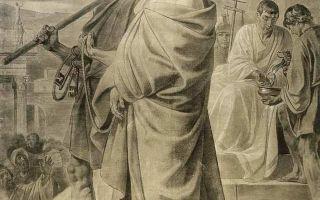 Картина «вирсавия», карл брюллов, 1832