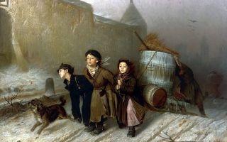 Описание картины «отпетый», перов, 1874