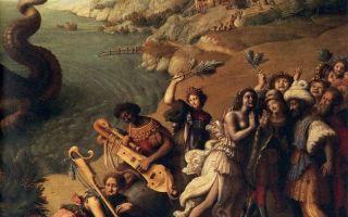 Персей и андромеда, джорджо вазари — описание картины