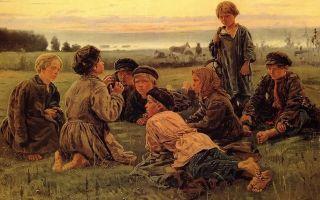 «свидание», владимир егорович маковский — описание картины
