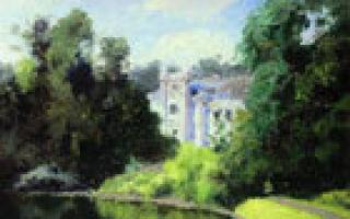 Картина «заросший пруд», василий дмитриевич поленов — описание