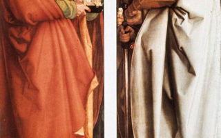 «четыре апостола», альбрехт дюрер — описание картины