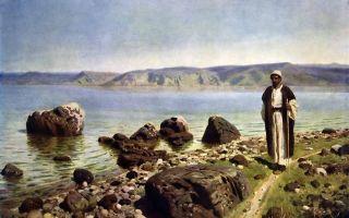 Воскрешение дочери иаира, поленов — описание картины
