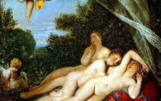 Смерть камиллы, сестры горация — бруни, 1824