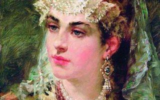 Картина «боярская дочь», суриков