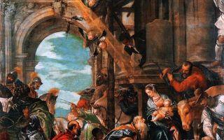 Поклонение волхвов, паоло веронезе, 1573