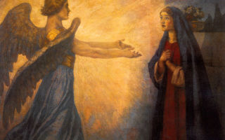 Благовещение, джорджо вазари — анализ картины