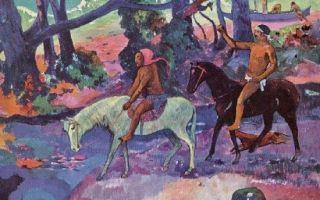 Биография поля гогена и описание картин художника