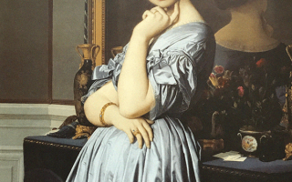 Портрет принцессы де брольи, энгр