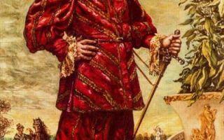 Блудный сын, джорджо де кирико — описание картины