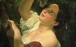 Картина «итальянский полдень», брюллов