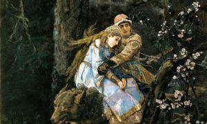 Картина васнецова «иван-царевич и серый волк», 1889