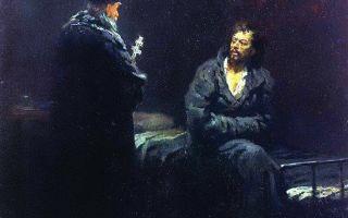 Отказ от исповеди, илья ефимович репин — описание картины