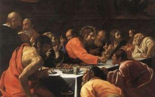«тайная вечеря», александр иванов — описание картины