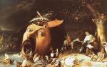 «искушение святого антония», иероним босх — описание картины