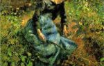 Кот-де-бёф близ понтуаза, писсарро, 1877