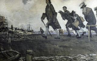 Картина «петр i», серов, 1907