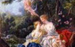 «юпитер и каллисто», франсуа буше — описание картины