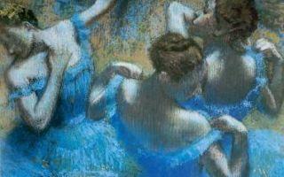 Четыре танцовщицы — эдгар дега
