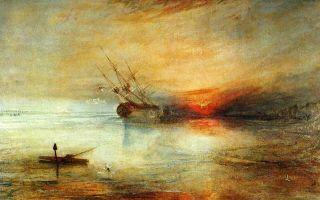 Рыбаки в море, уильям тернер — описание картины