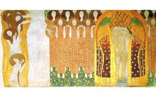 Картина густава климта «смерть и жизнь», описание