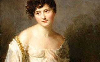 Портрет мадам рекамье, жак луи давид — описание картины