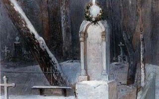 Описание картины саврасова «зима»