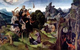Искушение святого антония, сальвадор дали, 1946